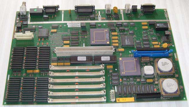 Different color memory slots motherboard